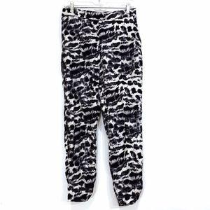 Zara Basic Animal Print Pants